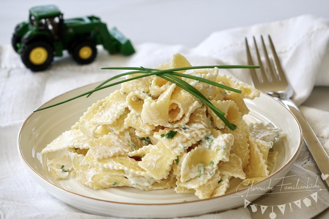 Nudel mit Topfen Topfennudel Gericht Glorreiche Familienküche