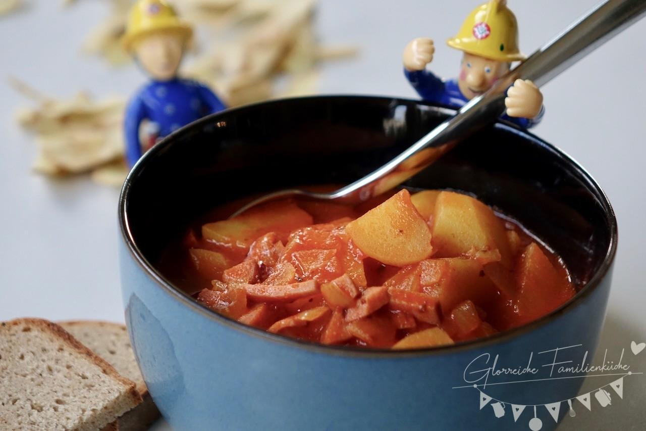 Kartoffelgulasch Gericht Glorreiche Familienküche