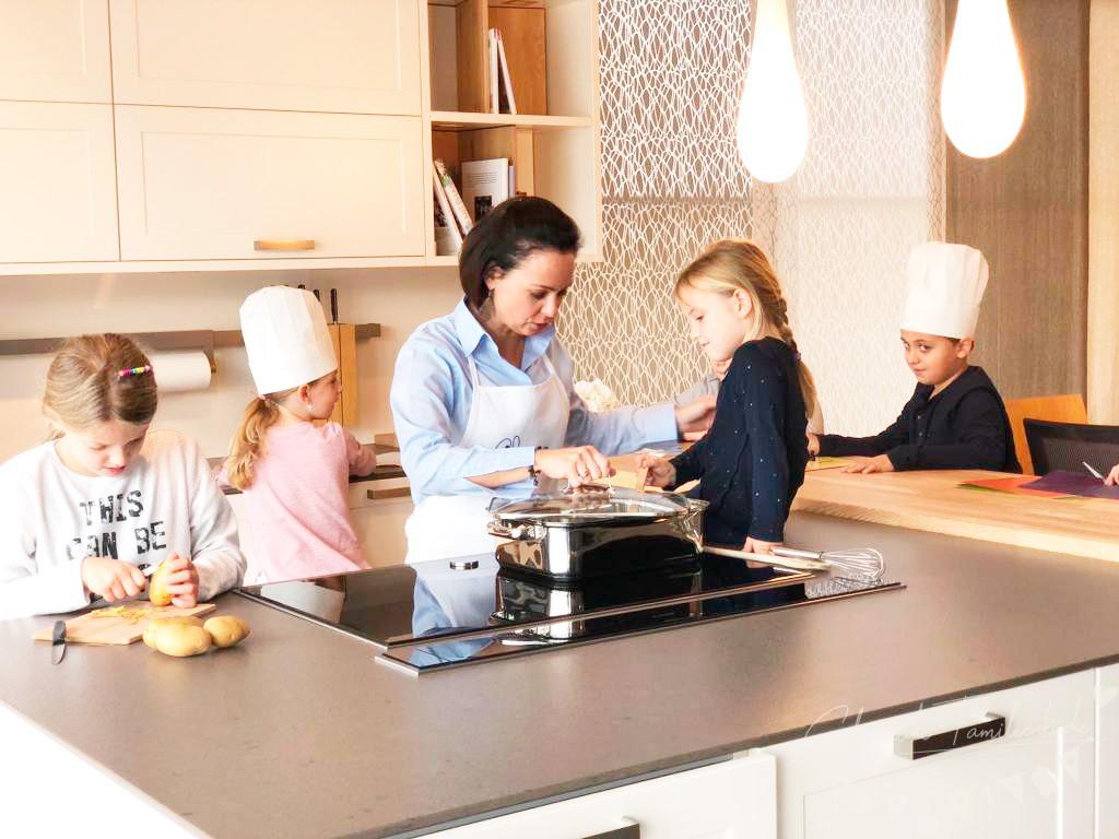 zusammen kochen macht spaß - glorreiche familienküche