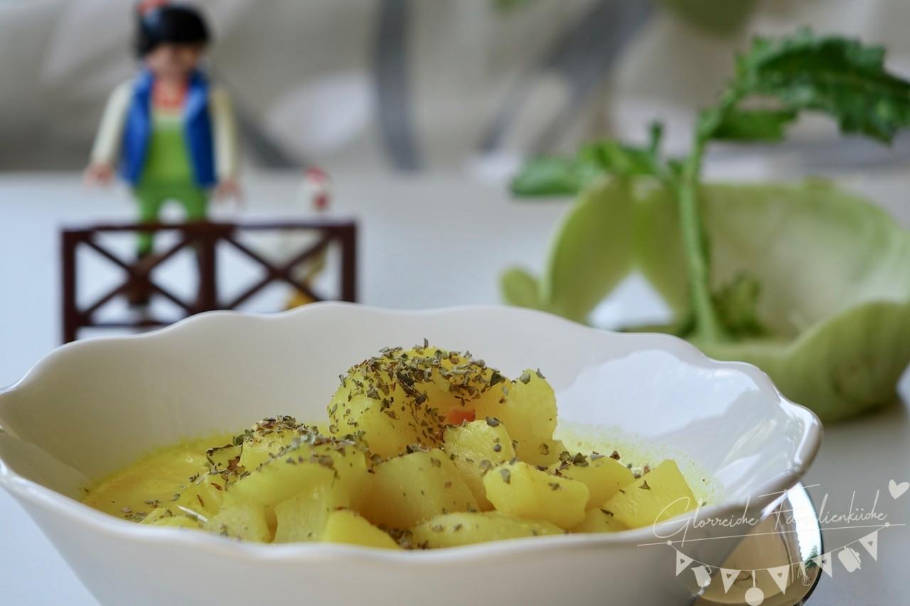 Kohlrabisauce Gericht Glorreiche Familienküche