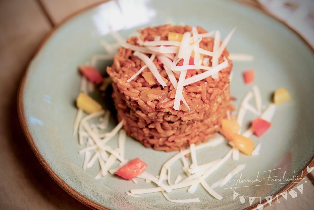Reisfleisch Gericht Glorreiche Familienküche