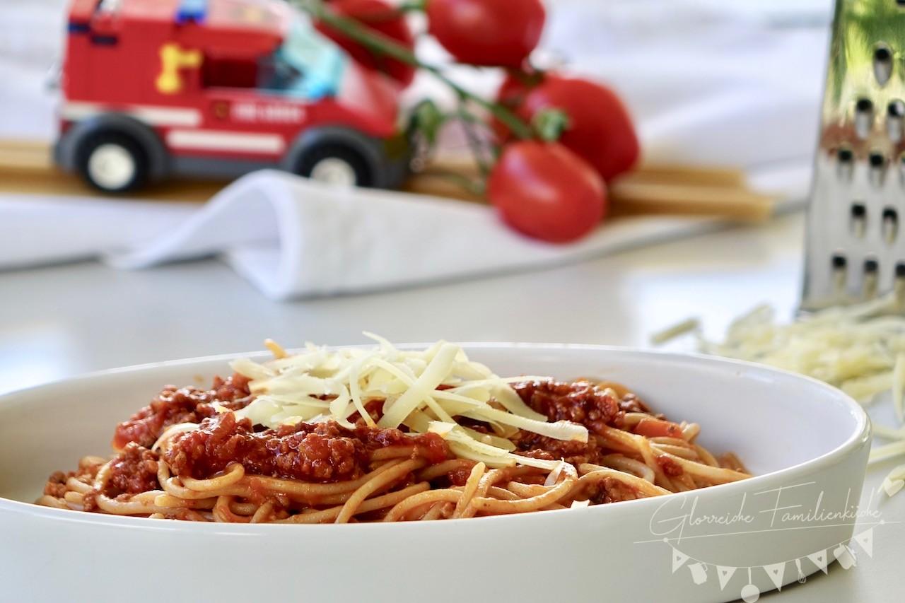 Spaghetti Bolognese Gericht 1 Glorreiche Familienküche