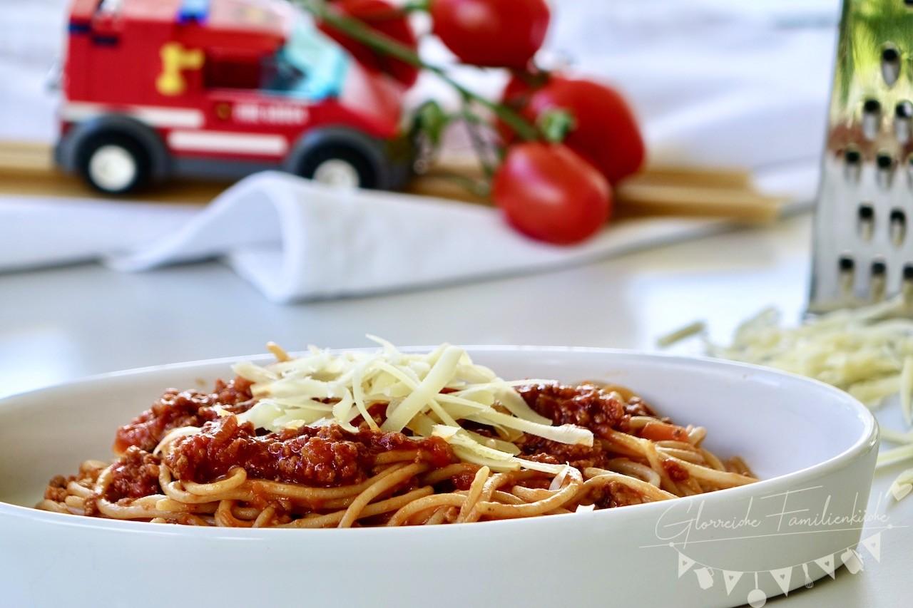 Spaghetti Bolognese Rezept Glorreiche Familienkueche