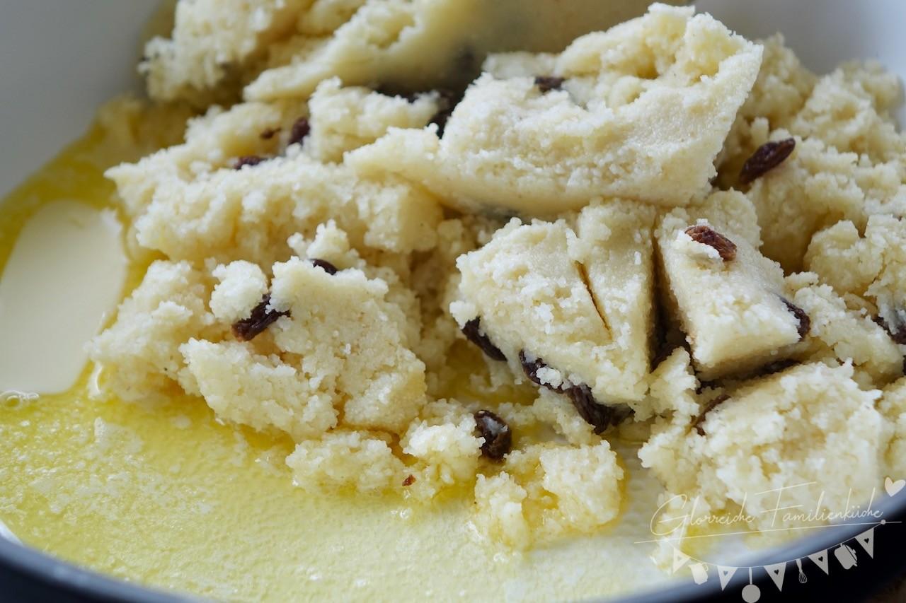 Grießschmarren Zubereitung Schritt 2 Glorreiche Familienküche