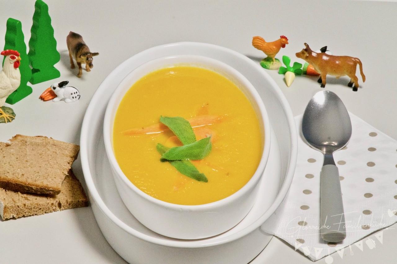 Karottensuppe Zubereitung Glorreiche Familienkueche