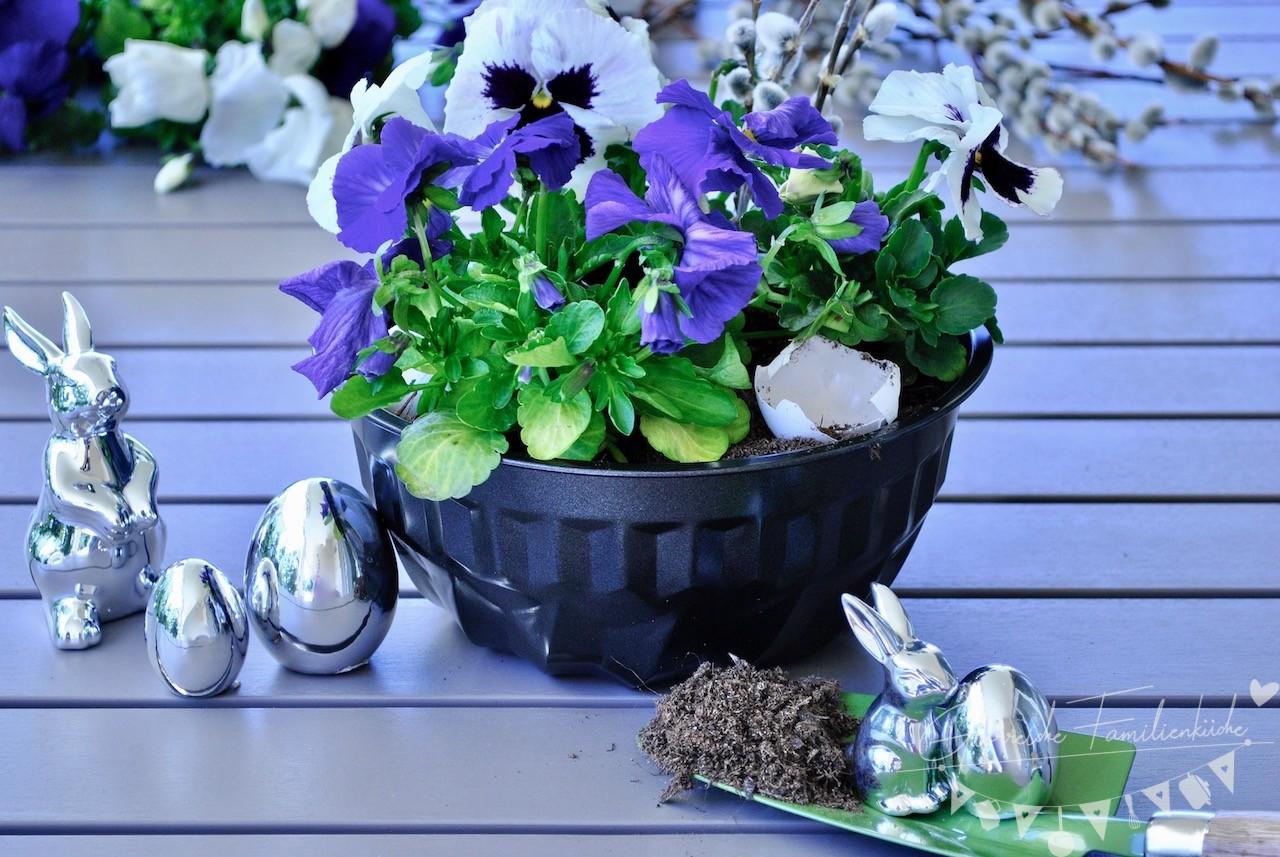 Blumenreindling Glorreiche Familienküche