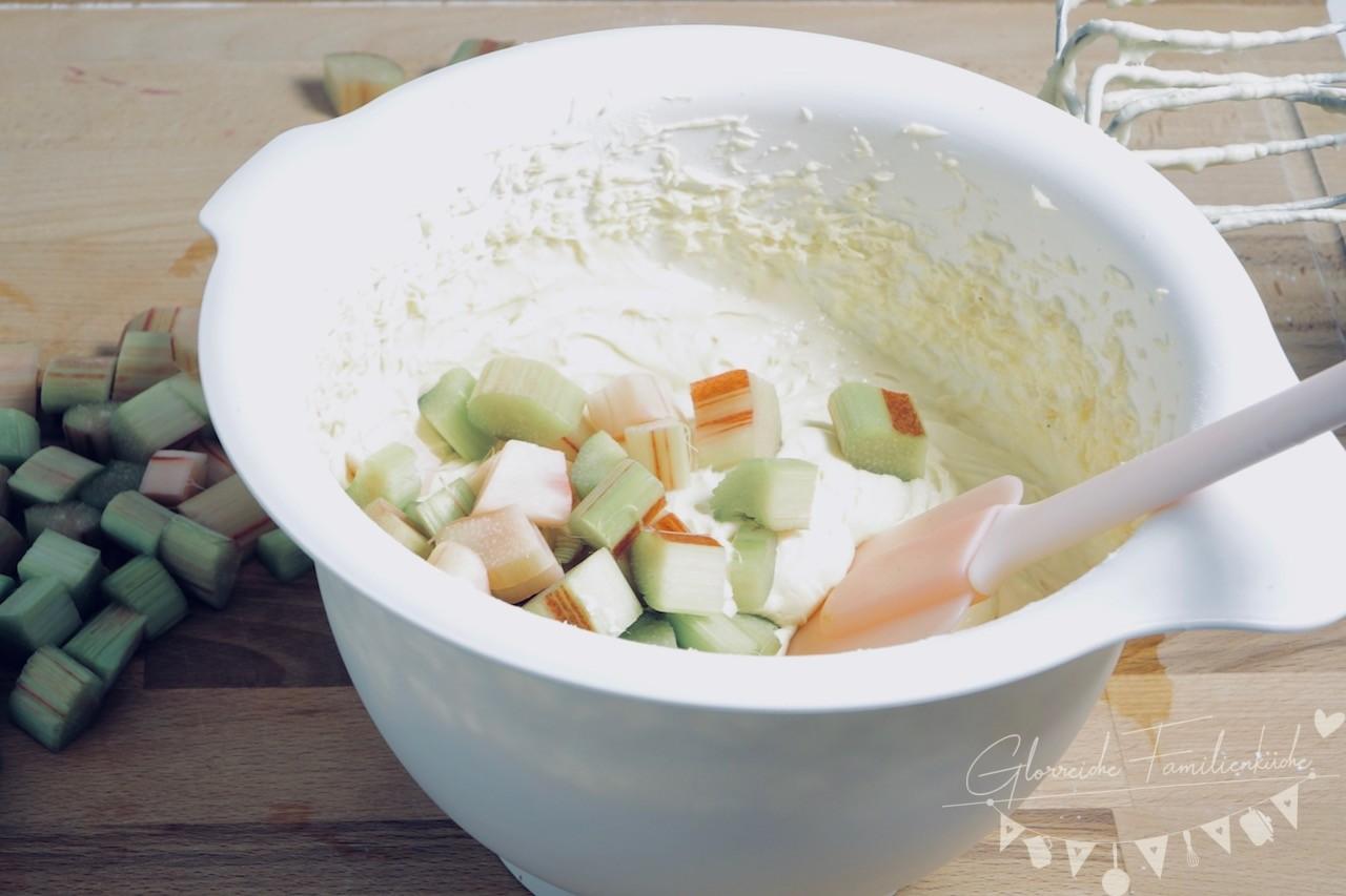 Rhabarberkuchen Zubereitung Schritt 4 Glorreiche Familienküche