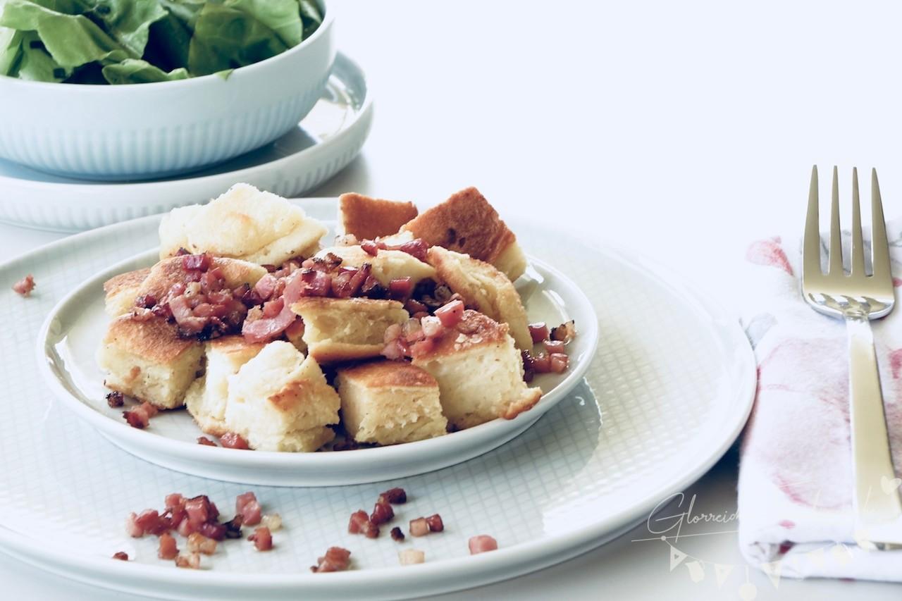 Pikanter Topfenschmarren Glorreiche Familienküche