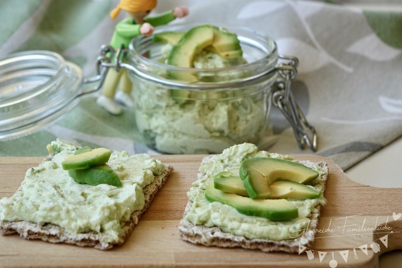 Avocadoaufstrich Glorreiche Familienküche
