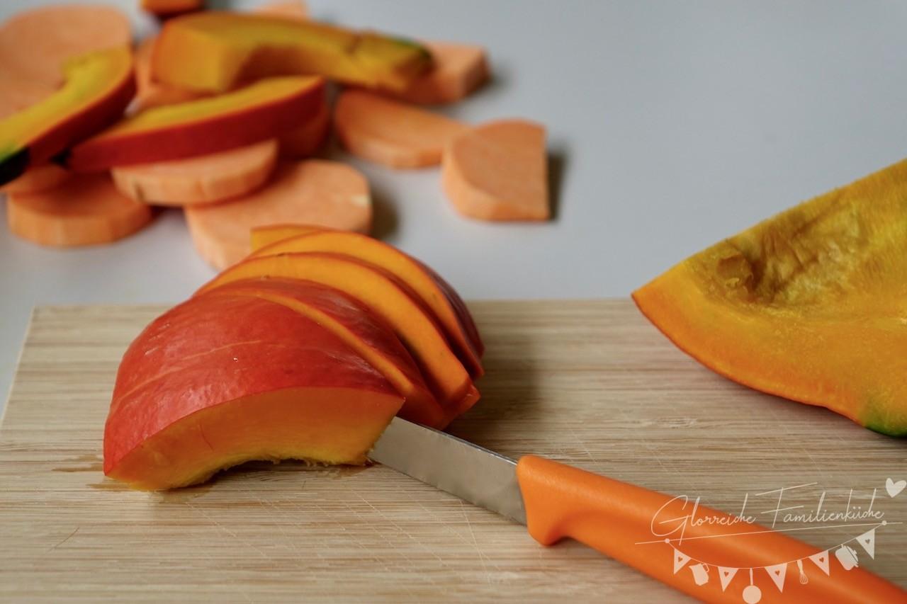 Süßkartoffel Ofengemüse Zubereitung Schritt 2 Glorreiche Familienküche