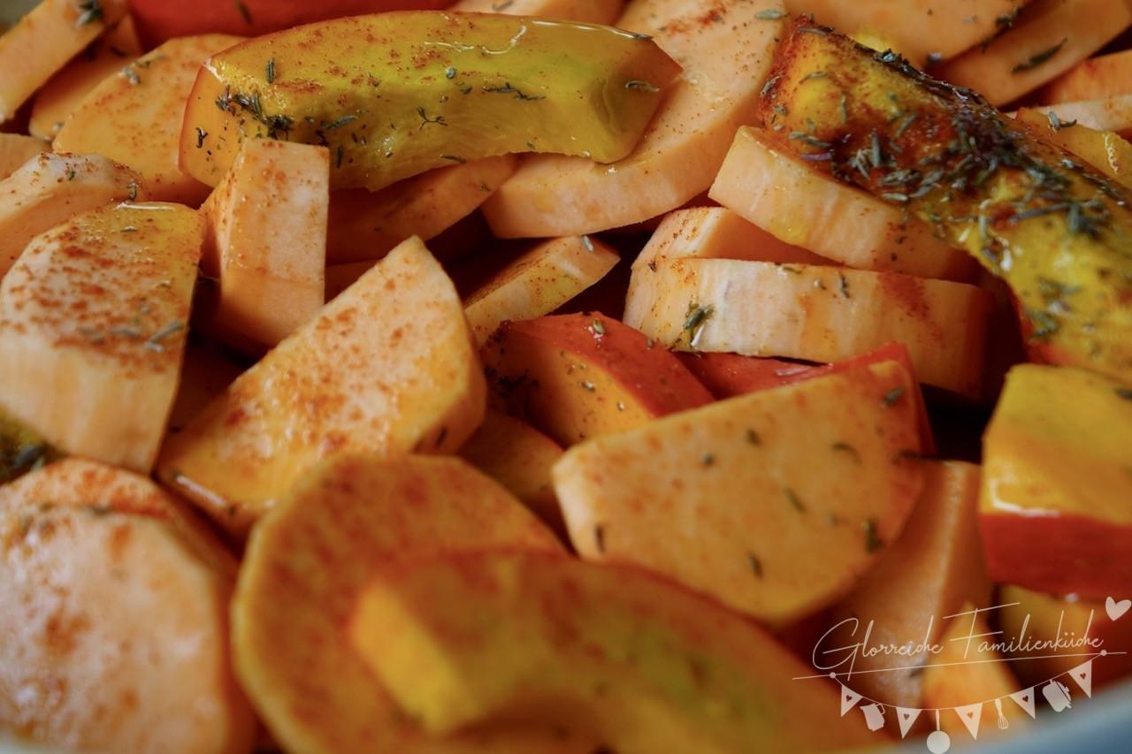 Süßkartoffel Ofengemüse Zubereitung Schritt 3 Glorreiche Familienküche