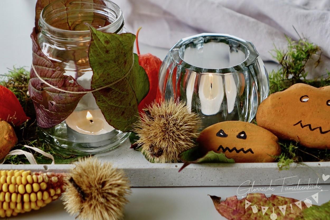 Herbstdeko Glorreiche Familienküche