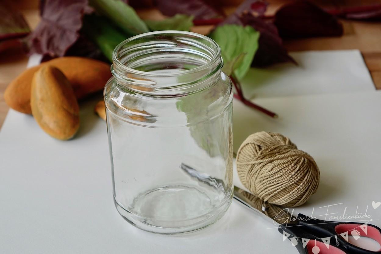 Herbstdeko Teelicht Anleitung Glorreiche Familineküche