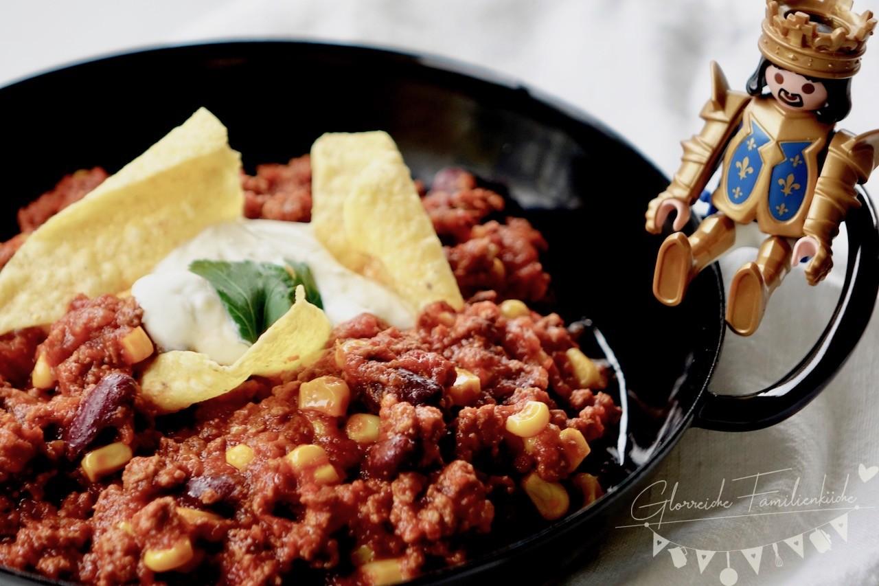 Chilli Con Carne Gericht Glorreiche Familienküche