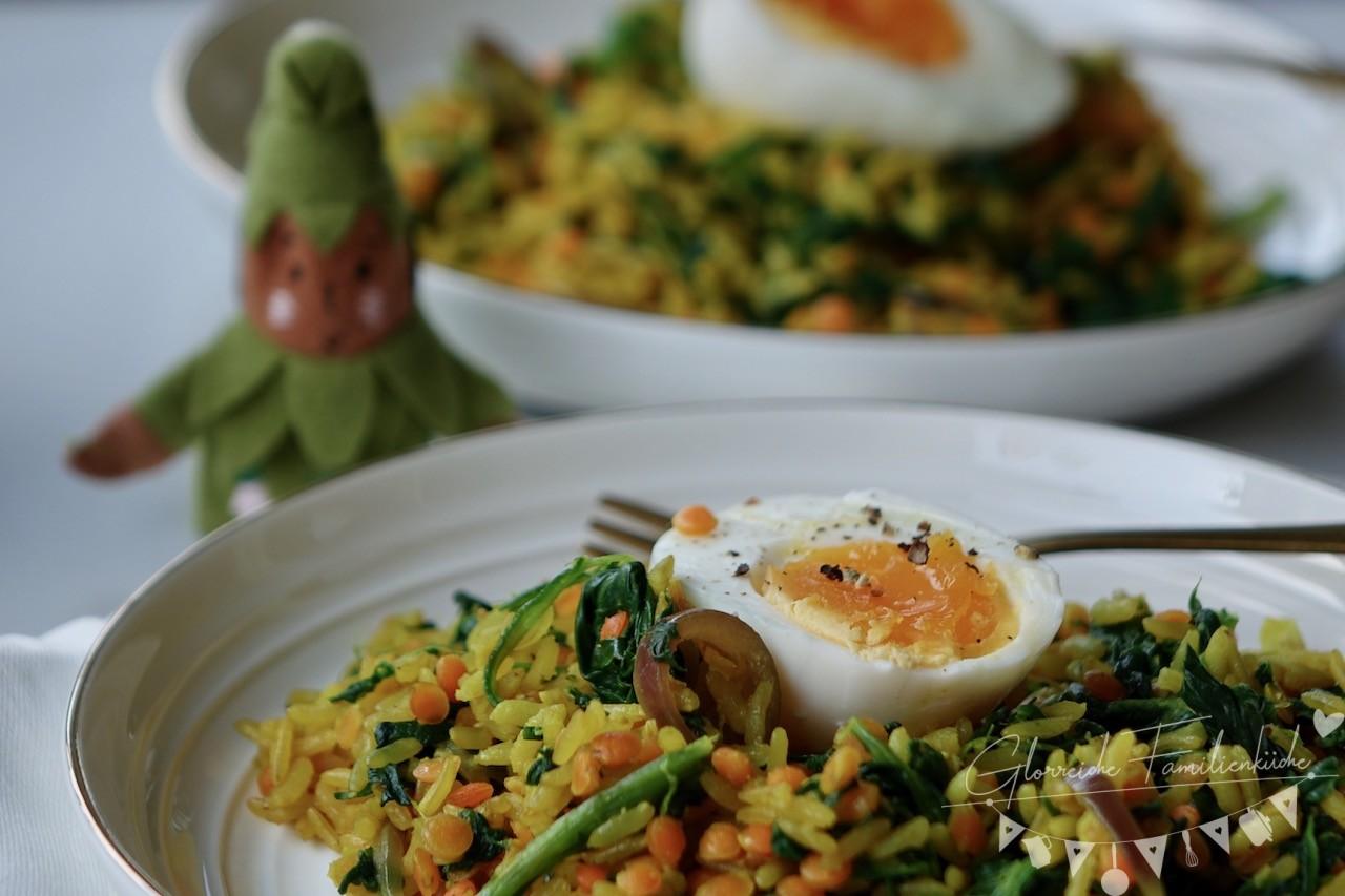 One Pot Gericht Gelber Reis Glorreiche Familienküche