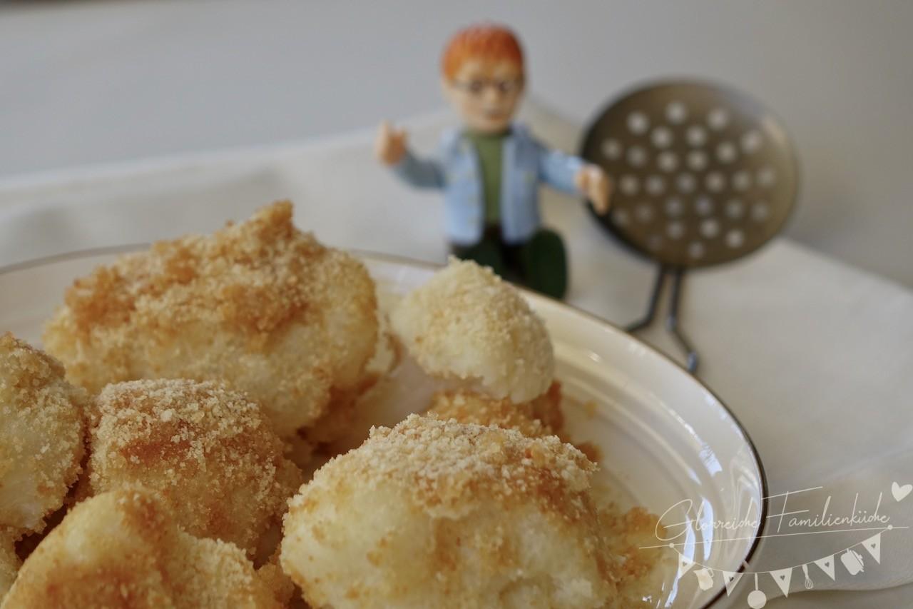 Karfiol mit Semmelbrösel Gericht Glorreiche Familienküche