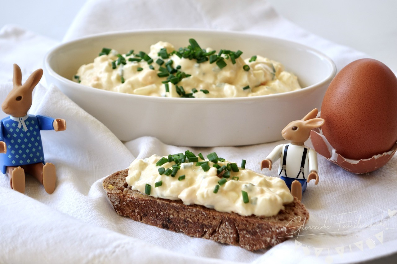 Eiaufstrich mit Schnittlauch Gericht Glorreiche Familienküche
