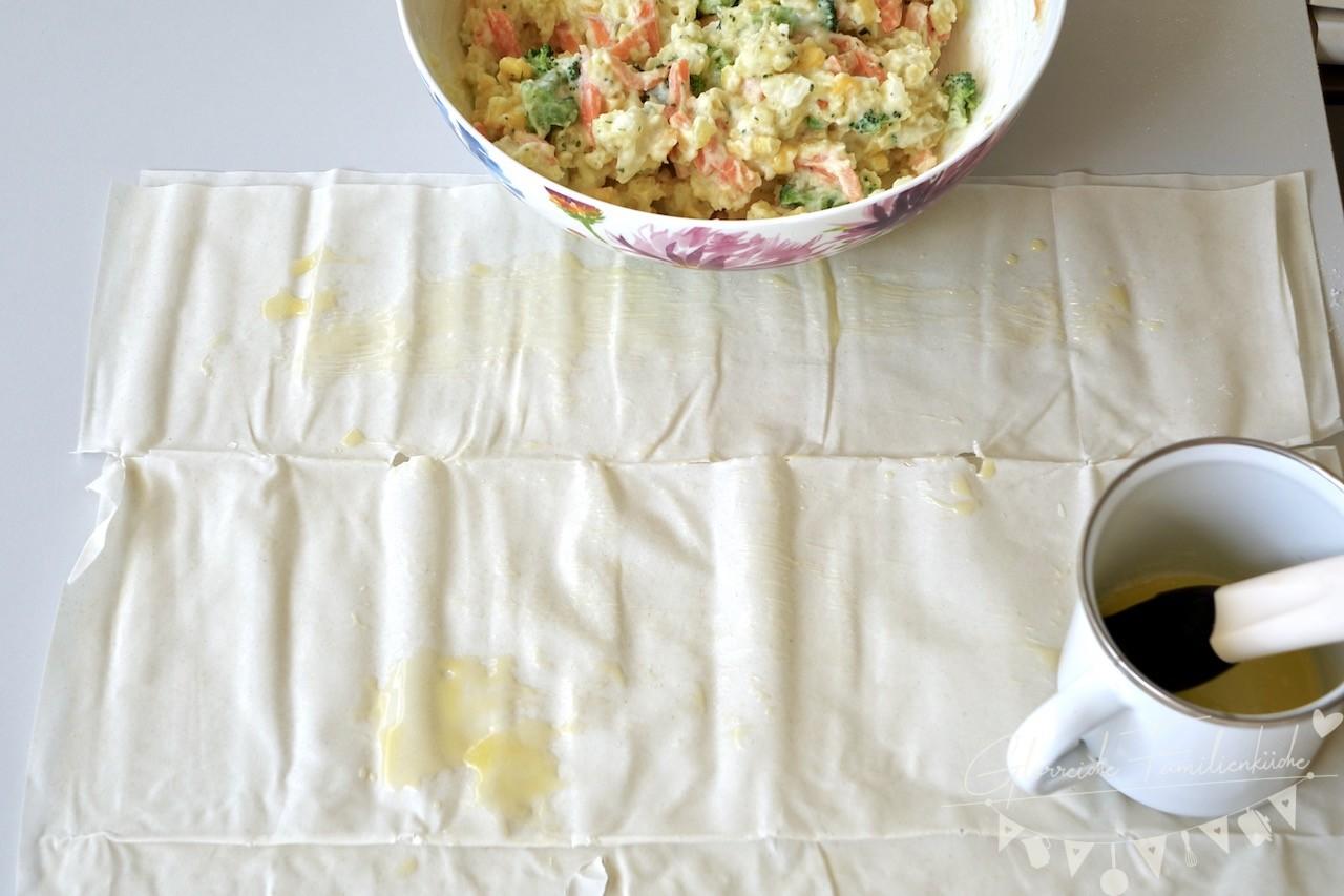 Gemüsestrudel Zubereitung Schritt 4 Glorreiche Familienküche