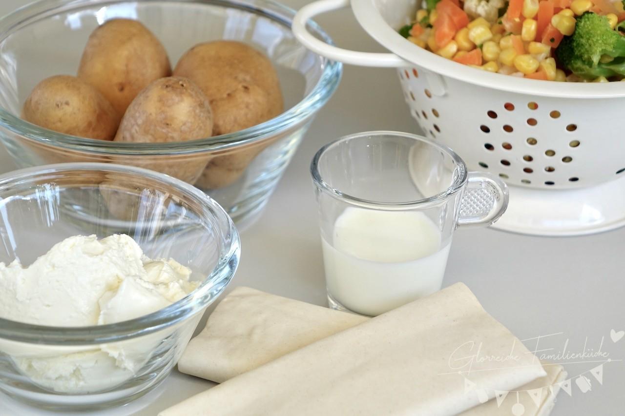 Gemüsestrudel Zutaten Glorreiche Familienküche