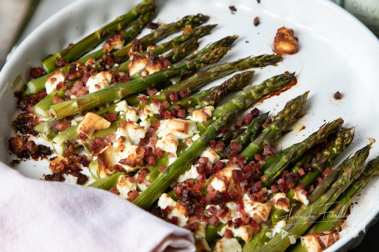 Ofenspargel Gericht 2 mit Alphaproducts Glorreiche Familienküche