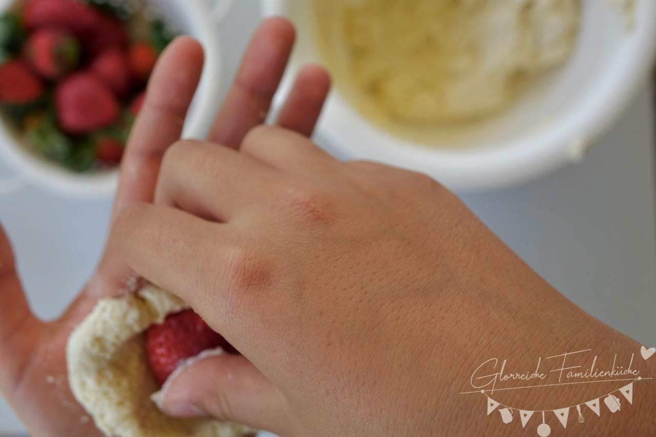 Erdbeerknödel Zubereitung Schritt 4 Glorreiche Familienküche