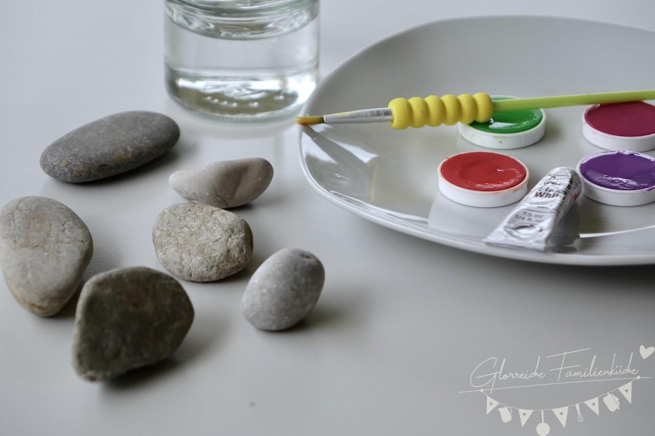 Last Minute Tischdeko für Muttertag DIY Materialien Glorreiche Familenküche