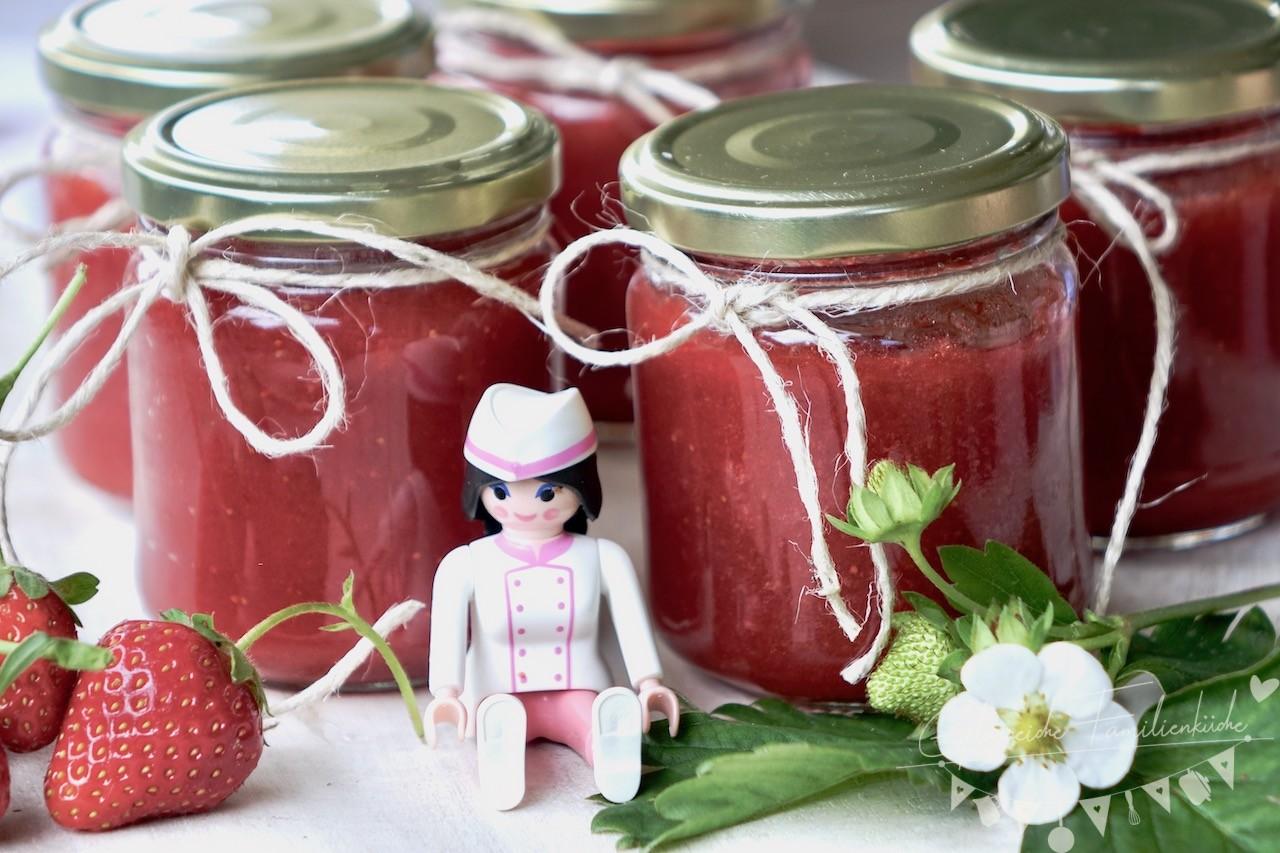 Erdbeermarmelade Gericht Glorreich Familienküche