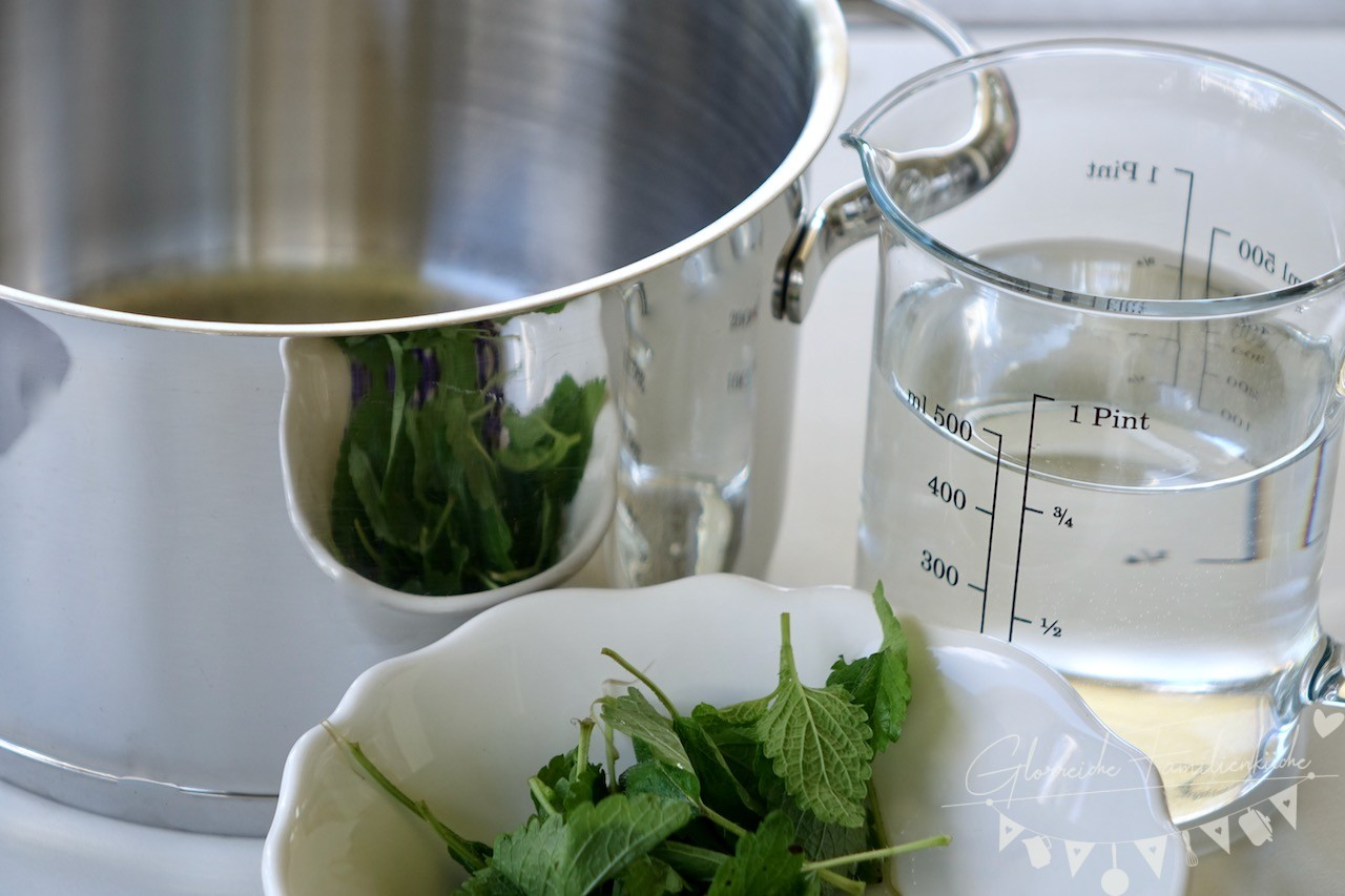 Lavendlsirup Zubereitung Schritt 1 Glorreiche Familienküche