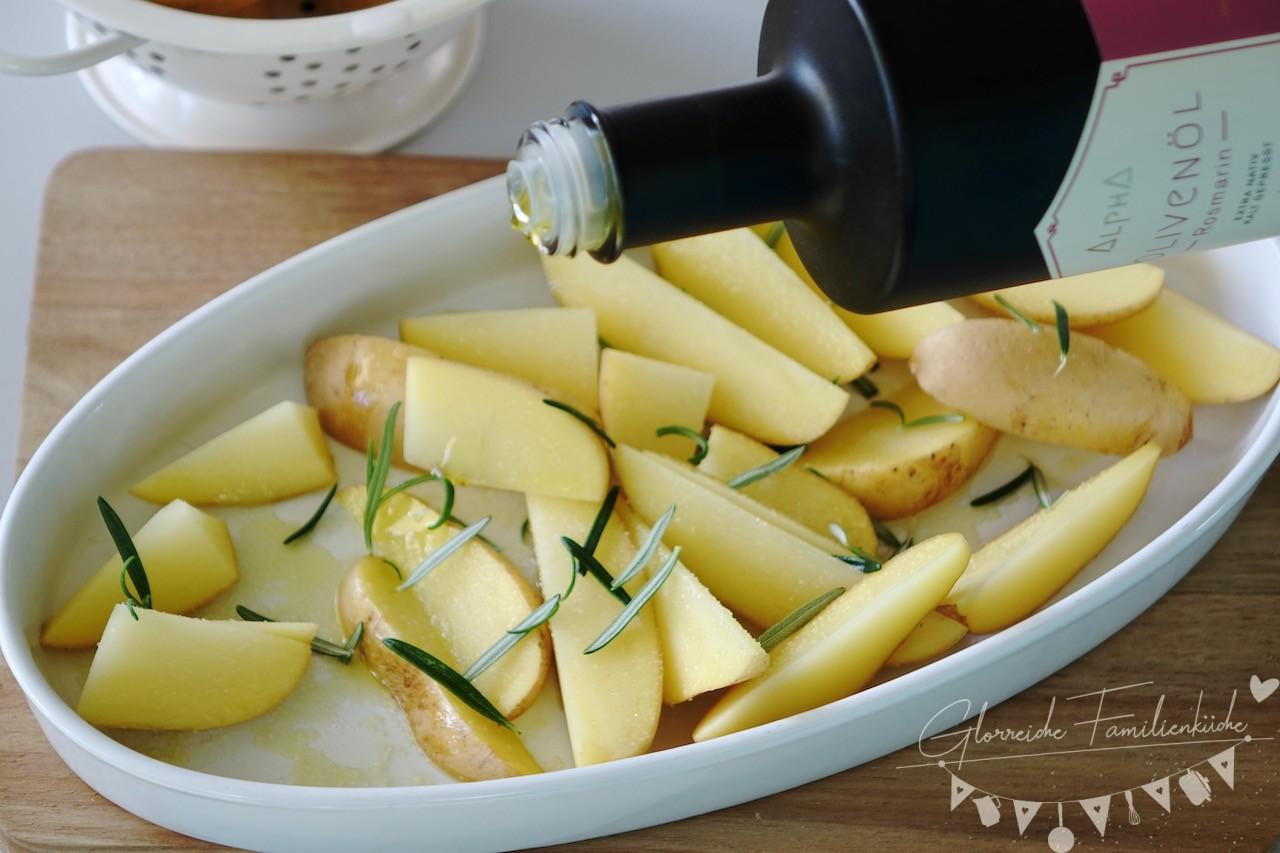 Rosmarinkartoffel Zubereitung Schritt 2 Glorreiche Familienküche
