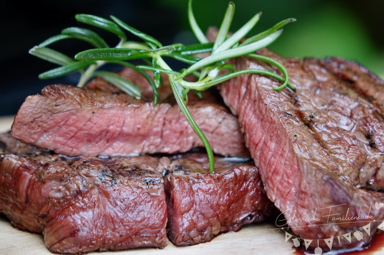 Steak Gericht Glorreiche Familienküche