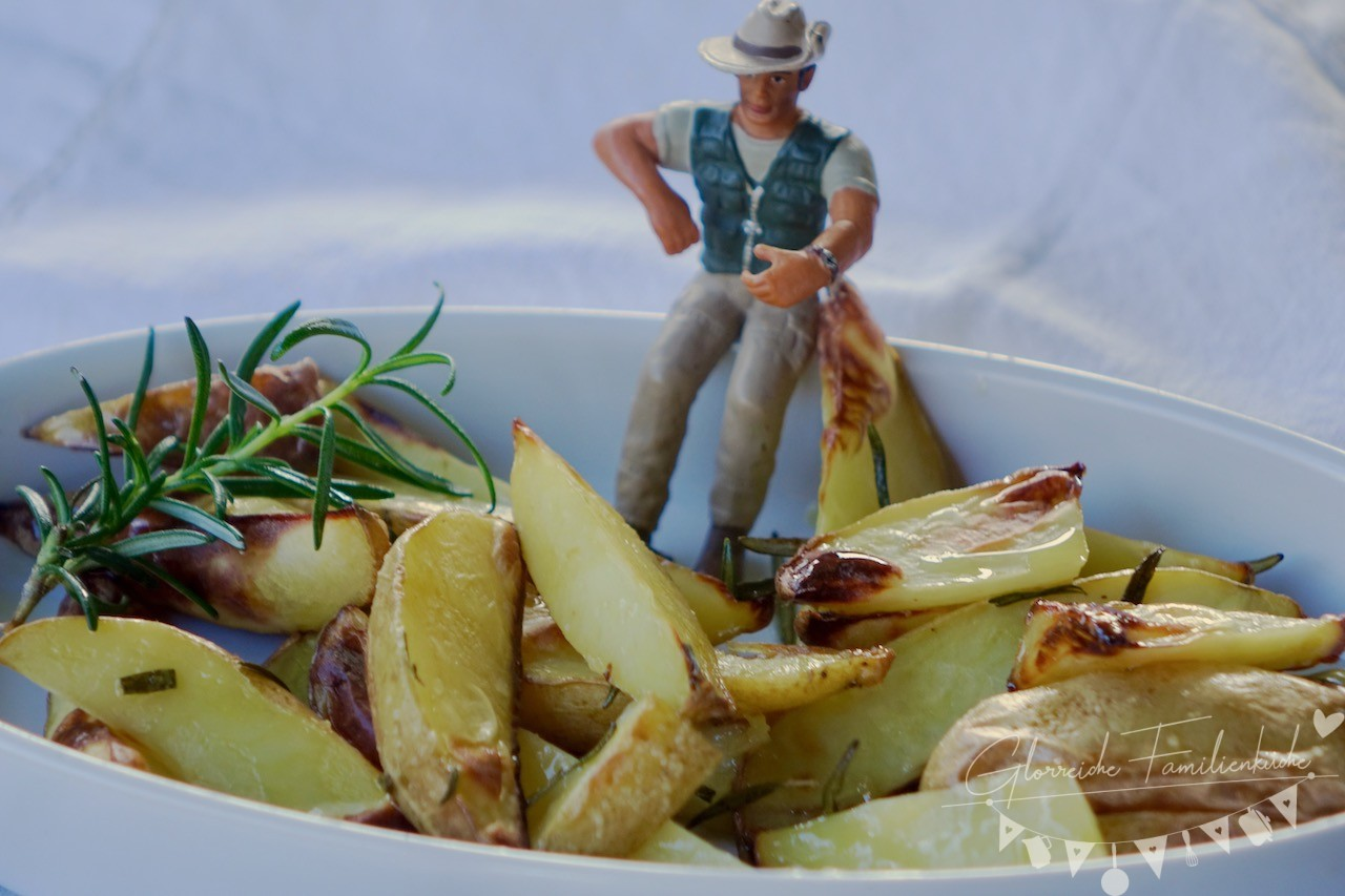 Rosmarinkartoffel Gericht Glorreiche Familienküche