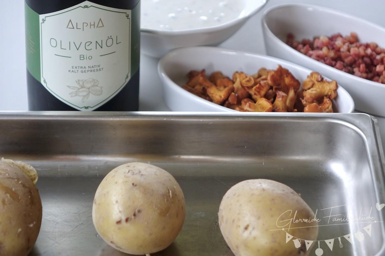 Ofenkartoffel Zutaten und Zubereitung Glorreiche Familienkueche