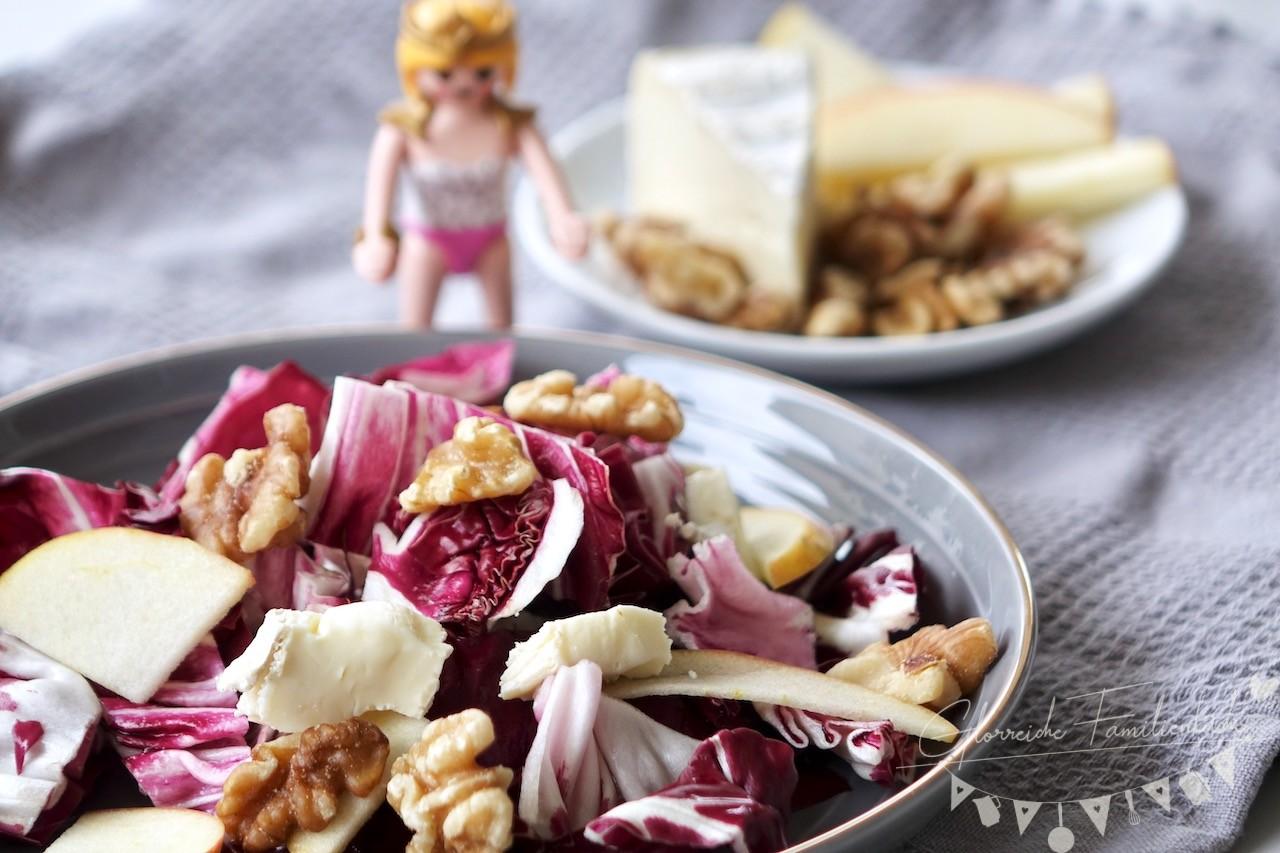 Radicchio Salat Glorreiche Familienküche